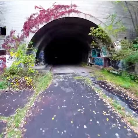 cool creepy a drone tour of abandoned pa turnpike tunnels the 412 april 2015