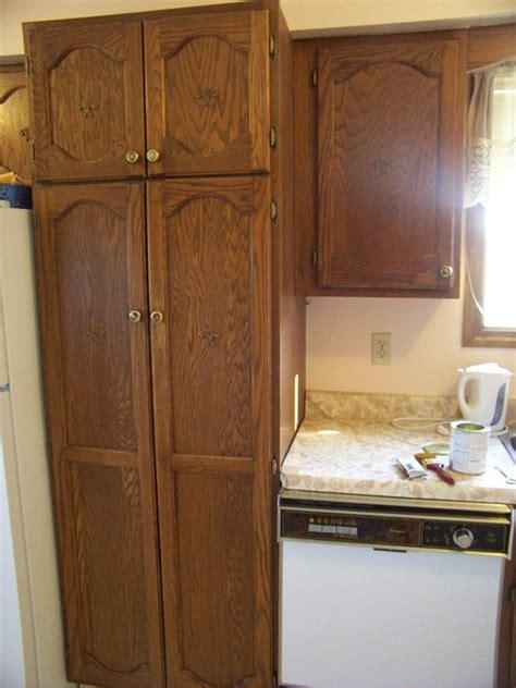 refinishing solid oak kitchen cabinets woodchuckcanuckcom