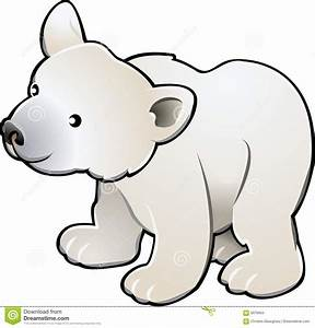 Cute Polar Bear Vector Illustr Stock Vector - Image: 5078954