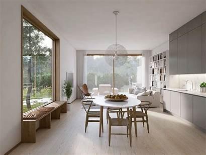 Dining Scandinavian Minimalist Rooms Designs Modern Behance