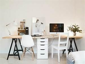 Schreibtisch Zwei Personen : schreibtisch fur zwei beeindruckend ein kleines buro personen ~ Markanthonyermac.com Haus und Dekorationen