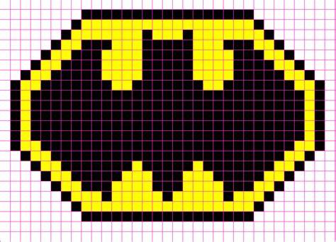 pixel templates batman logo template cake ideas and designs