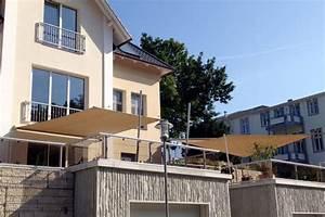 sonnensegel balkon hohmann sonnenschutz With französischer balkon mit sonnenschirme rechteckig elektrisch