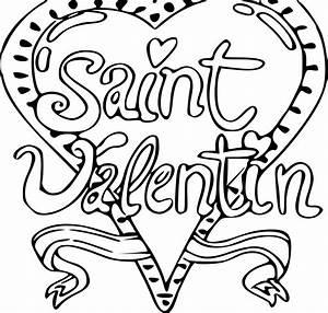 Dessin Saint Valentin : coloriage saint valentin imprimer ~ Melissatoandfro.com Idées de Décoration