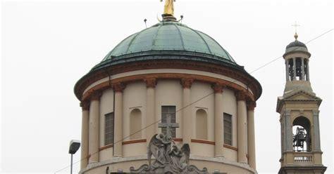 Golden Statue Crowns Cupola Of Huge Church  best Of Bergamo