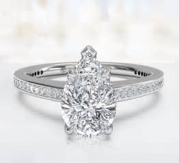 pear shaped engagement rings pear shaped engagement rings ritani