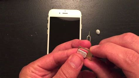 Simply put, a sim card is what makes your iphone a phone. iPhone 6S / Plus : How to Insert & Eject Sim Card - YouTube