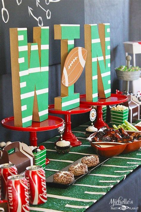 football party ideas  tailgating tips decoration