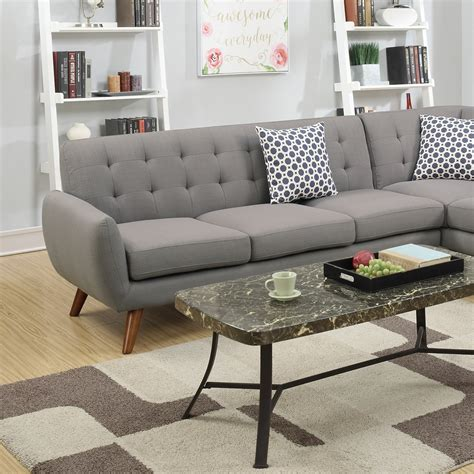 Loveseat Sectional Sofa sectional sofa loveseat wedge linen sectionals