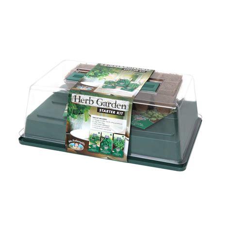 garden starter kit mr fothergill s herb garden starter kit ideal seed