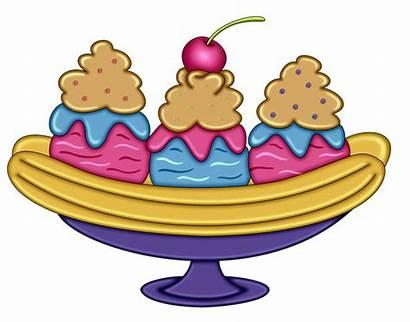Ice Cream Clipart Cup Clip Banana Parlour