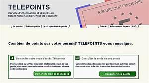 Comment Savoir Le Nombre De Point Sur Mon Permis : comment remplir telepoint la r ponse est sur ~ Medecine-chirurgie-esthetiques.com Avis de Voitures