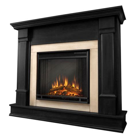 kitchen ideas with black appliances silverton 48 in electric fireplace in black