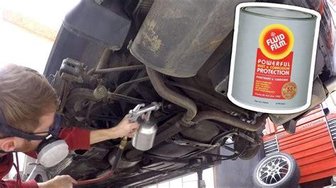 undercoating fluid film gun spray vehicle