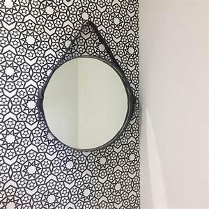 Miroir A Suspendre : diy 44 un miroir suspendu pierre papier ciseaux ~ Teatrodelosmanantiales.com Idées de Décoration