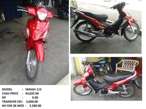 Second Hand Motorcycle Installment Philippines