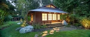 Japanese Garden and Dojo - Asian - Garden - houston - by