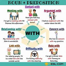 Noun + With 10+ Common Noun Collocations With With
