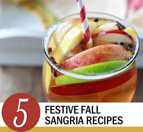 Tasty Fall Sangria Recipe