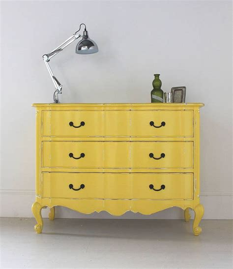How To Paint Distressed Furniture Black by Wednesday Wish List Annie Sloan English Yellow Paint