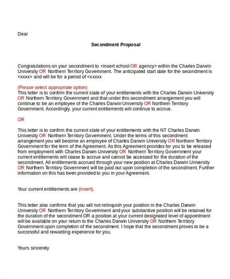 Sample Peion Letter Format