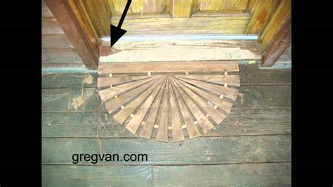 Wood Door Threshold   peytonmeyer.net