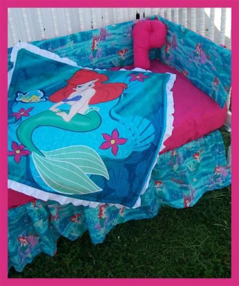 Mermaid Crib Bedding by The Mermaid Crib Bedding Set New Baby