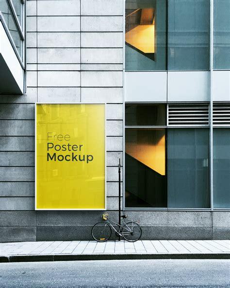 Poster Mockup 6 Free Poster Billboard Mock Up For Advertisement 2017