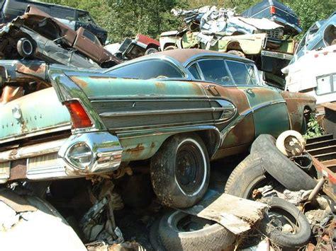 123 best Junkyards images on Pinterest   Abandoned cars