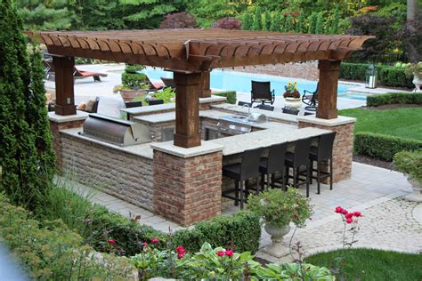Country Kitchen Ideas - outdoor kitchens tango landscapes