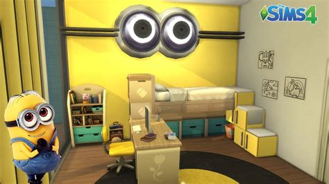 chambre sims 3 les sims 4 chambre les minions sans cc