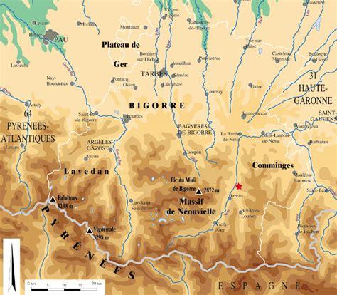 Carte Des Grottes Préhistoriques En by Grotte Du Noisetier 224 Fr 233 Chet Aure