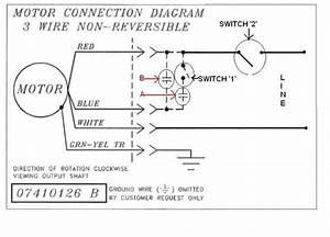 Electric Motor Wiring Diagram