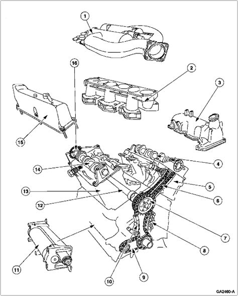 Ford 6 0l Engine Diagram by How Time Consuming Is It To Pull Engine And Replace Timing