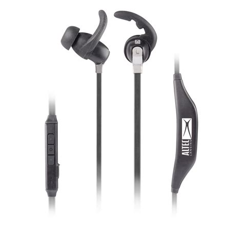 altec lansing in ear bluetooth earbuds mzw101 blk hd the home depot
