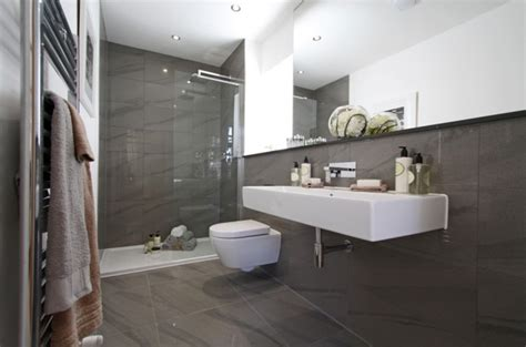 bathroom tile designs contemporary ensuite inspired space the builder 39 s