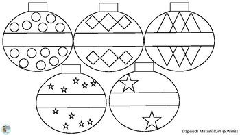 christmas ornaments coloring cut out ornaments freebie free coloring pages color and cut hang on tree