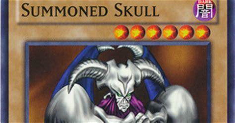 summoned skull beatdown deck summoned skull yu gi oh monstros de duelo