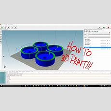 How To Use Repetier Host  3d Printing Youtube
