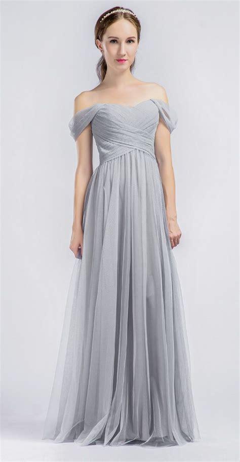 light gray wedding dress blomwedding