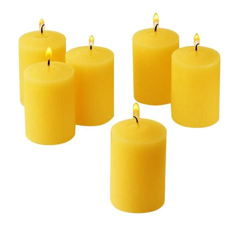 Citronella L Home Depot by Light In The Citronella Yellow Scented Votive Candles