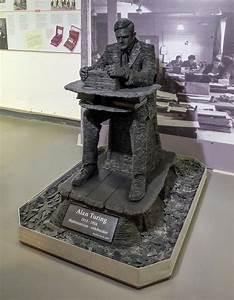 Alan Turing Statue