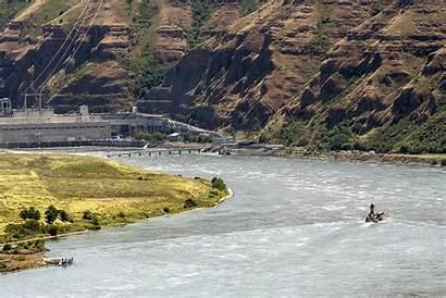 River Snake Dam Idaho Lower Granite Makes