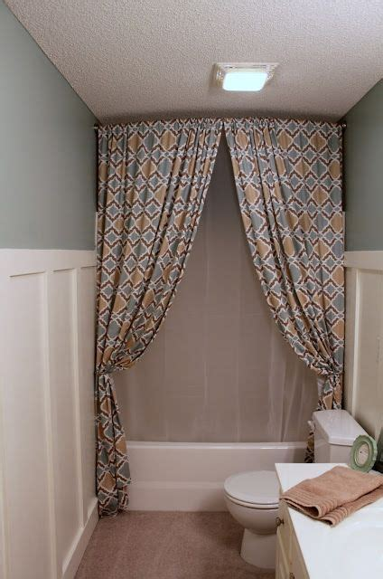1000 ideas about two shower curtains on