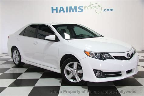 Toyota Camry 2014 5 by 2014 Used Toyota Camry 2014 5 4dr Sedan I4 Automatic Se At