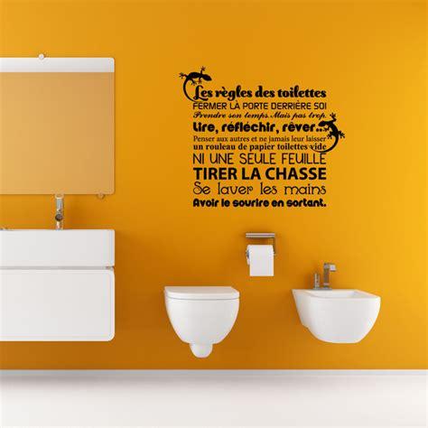 stickers pour les toilettes sticker citation les r 232 gles des toilettes stickers toilettes porte ambiance sticker