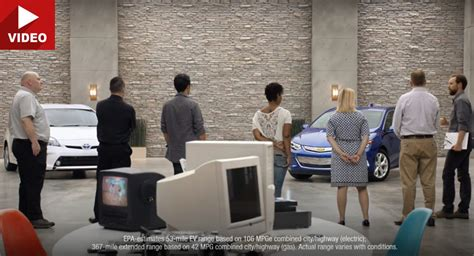 Chevrolet Commercial by New Chevy Volt Ads Mock Toyota Prius Nissan Leaf