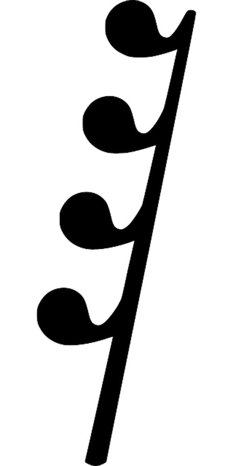 The length of sound is determined by the symbol and the symbol's value: Rest Symbol - ClipArt Best