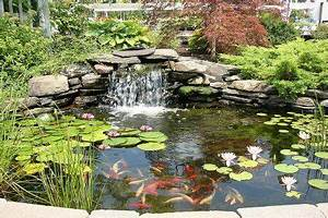un petit jardin d39eau cascadas para jardin pinterest With lovely amenagement petit jardin avec terrasse 8 bassin deau dans le jardin 85 idees pour sinspirer