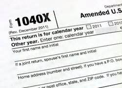 irs form to amend 2015 tax return tips for filing an amended return